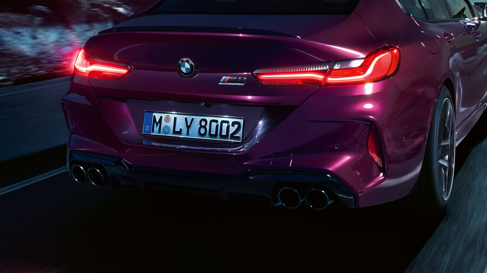The M8 Bmw M8 Competition Gran Coupe Destaques