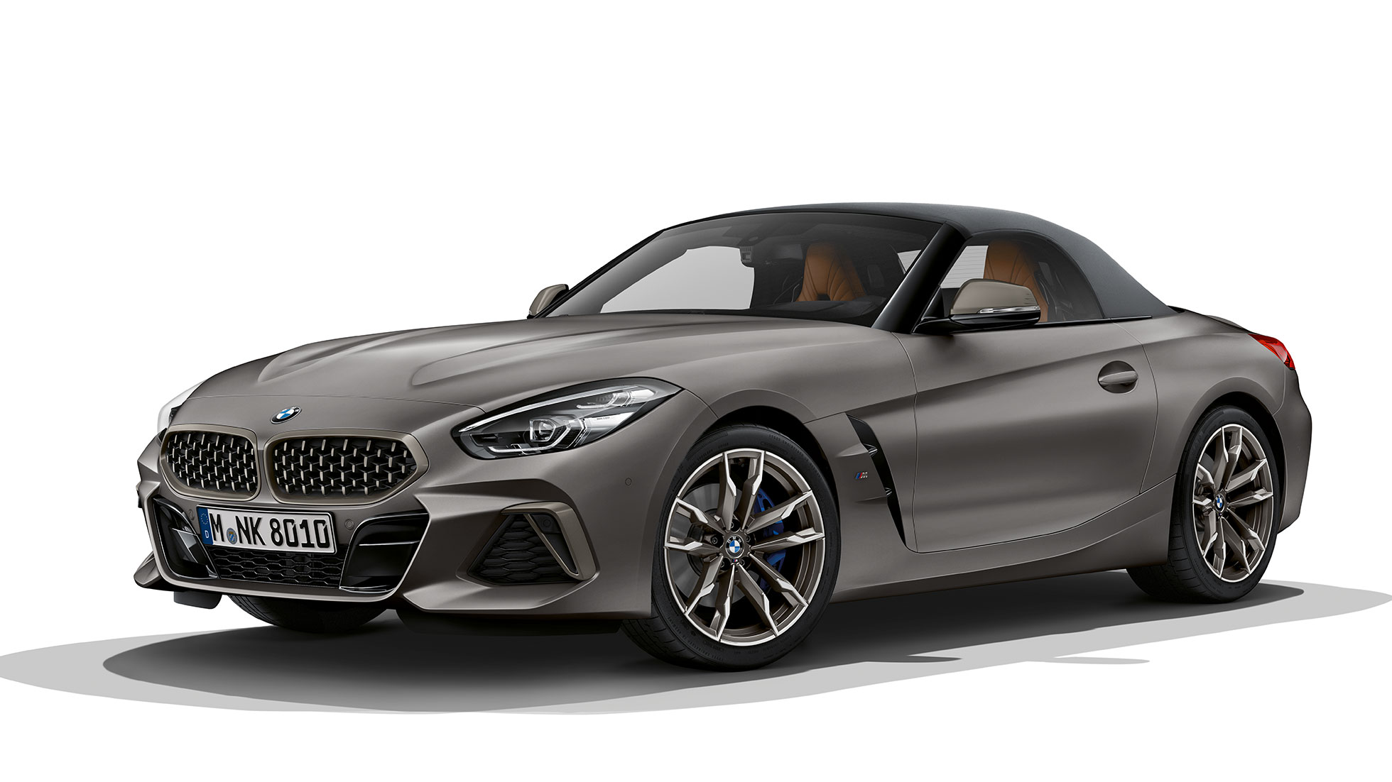 BMW Z4 Roadster M40i, vista frontal a 45 graus